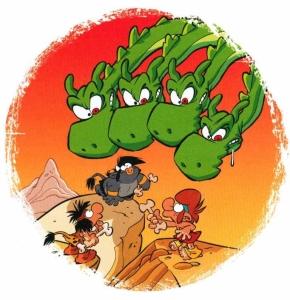 les petits mythos,cazenove,larbier,bamboo,710,humour,jeunesse,042015