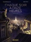 Chaque soir à onze heures, eddy Simmon, Camille Benyamina, thriller romantique, Glenat