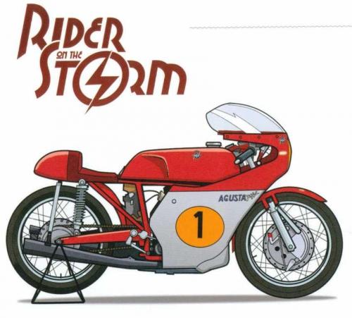 Rider on the storm, rome, Deville, Géro, Paquet, 8/10, motocyclisme, aventure, polar, Carénage, 05/2015