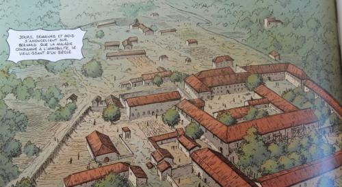 l'abbaye de clairvaux,glénat,didier convard,éric adam,denis béchu,le corps et l'âme
