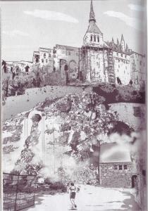 mont tombe, mont saint michel, izu, asan, glenat, jaxom