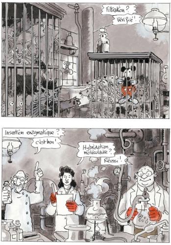 histoire d'un monde truqué,tardi,legrand,casterman,avril et le monde truqué,cinéma,dessin animé,uchronie,paris,610:102015