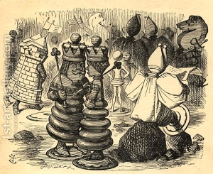 The-Chess-Players,-Illustration-From-Through-The-Looking-Glass-By-Lewis-Carroll-1832-98-First-Published-1871.jpg