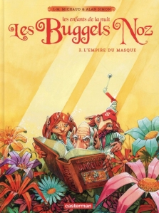 buggels Noz, masque, casterman, Alan Simon, Jean-Marie Michaud