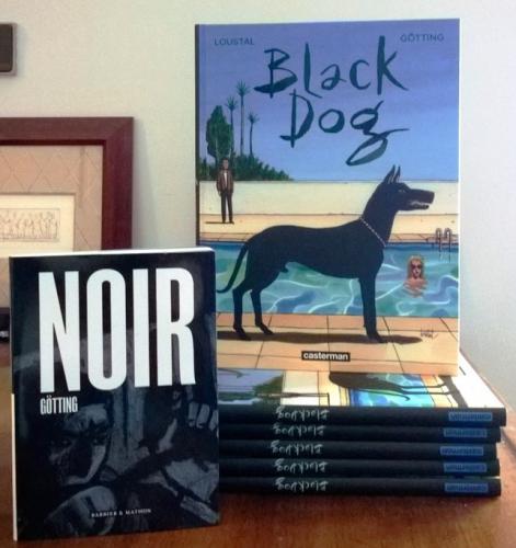 black dog,loustal,götting,casterman,27 avril 2016,polar