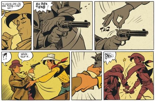 l'homme qui tua lucky luke,bonhomme,morris,hommahe,lucky comics,dargaud,western,910,042016
