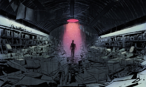 the bunker,glénat comics,thriller,science-fiction,joshua hale fialkov,joe infurnari
