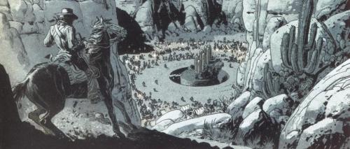 les fils d'el topo,tome 01,caïn,jodorowski,ladronn,glénat,grafica,08 juin 2016,western fantastique