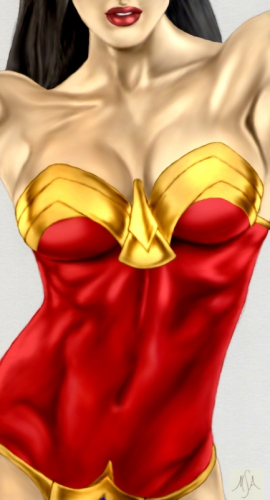 pin up,wonder woman,dc comics