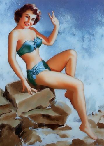 pin up,girls,dessous chics,bikinis choc