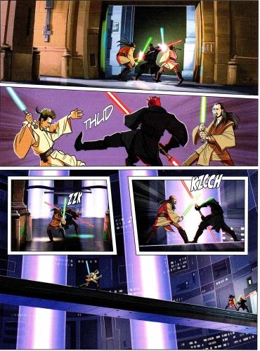 star wars,obi-wan kenobi,anakin skywalker,dark maul,delcourt comics
