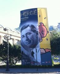 exposition, Hergé, Grand Palais, Tintin