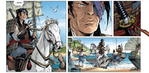 samurai légendes,tome 4,vents de colère,jean-françois di giorgio,cristina mormile,bertrand soleil productions