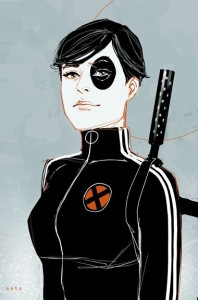 pin up,domino,sexe,marvel,x-force,tueuse,violence