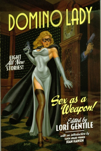 DOMINO LADY SEX AS A WEAPON! by Jeff Butler.jpg