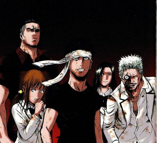 igai,manga shonen,saimura,zombies,étudiants,sports de combat