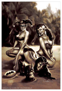 pin up,valenzuela,horreur,science fiction,sexy girls,monstres