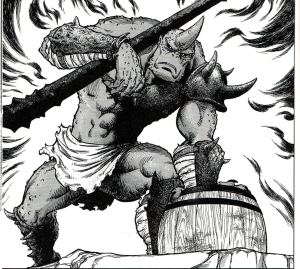 stravaganza,manga seinen,akihito tomi,féodalité,monstres,guerriers,géants