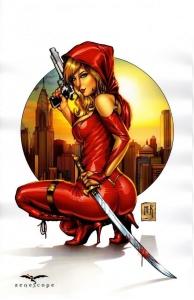 pin up,mike krome,heroic-fantaisy,guerrières,beautiful girls,sword & sorcery,lady mechanika,grimm fary tales,shahrazad