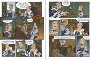Les mémoires de Marie-Antoinette, Versailles, Simsolo, Python, Glénat, Histoire, introspection, biopic.