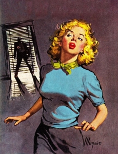 pin up,pulp magazines,robert mcguire,detective,gangsters,danger girls