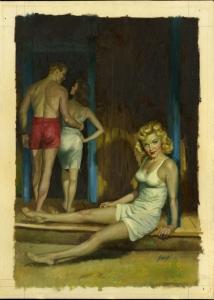 julian paul nazi love camp cover original art 1953.jpg