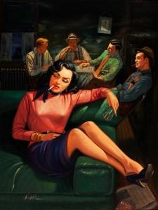 Gang Moll… pulp cover art by Rudy Nappi 1952.jpg