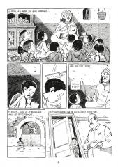 La prof et l'arabe, Pierre Maurel, Dominique Laroche, Chronique sociale, La Gauche, Algérie, Guerre d'Algérie, immigration, casterman