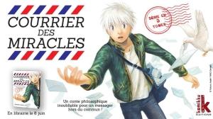 Courrier des miracles, Noboru Asahi, Komikku,Seinen, fantastique, introspection, tranche de vie.
