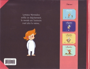 Myrmidon, Loïc Dauvillier,Thierry Martin,éditions de la Gouttière, Joris Chamblain, Lucile Thibaudier
