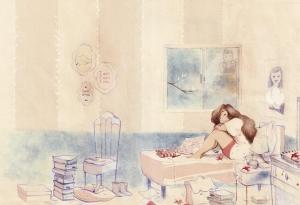 Les secrets de Brune, l'amie parfaite. Bruna Vieira, Lu Cafaggi, Sarbacane, tranche de vie, jeunesse, introspection.