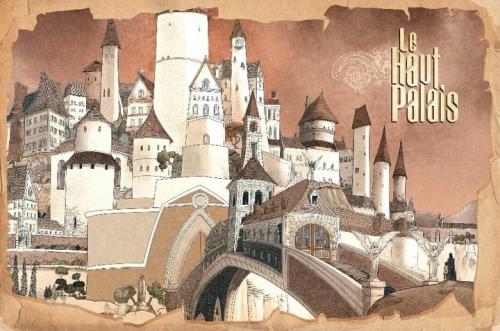 Le Haut Palais, Le pacte d'Obsidian, Mike Carey, Peter Gross, Fabien Alquier, Glénat, Conte fantastique