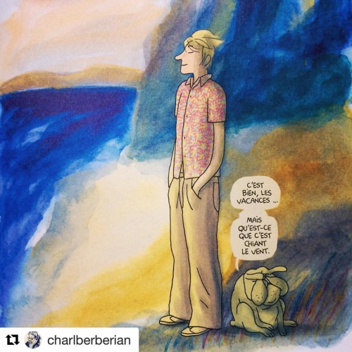 Afterz, Après tout la vie est pus belle avec toi, Charles Berberian, Fluide Glacial, chronique sociale, roman graphique.