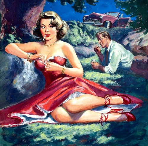 rudy nappi,pin-up girls,glamour,women in love
