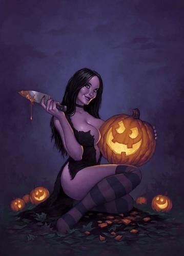 pin up,halloween,rafa teruel,joe pekar,loopydave,svetlana tigai,