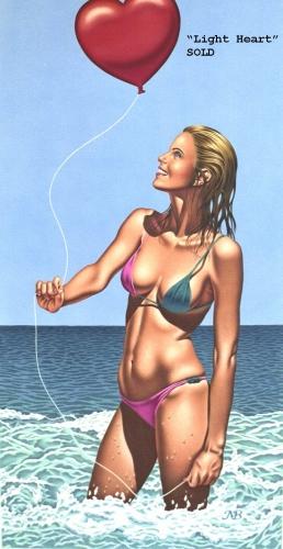 pin up à la plage,beach girls,chris achilleos,mark blanton,mariah datty benes,siya oum