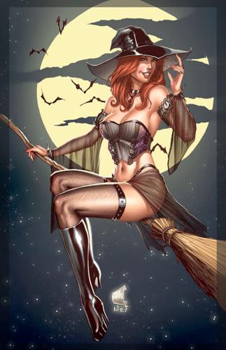pin up,halloween,rafa teruel,joe pekar,loopydave,svetlana tigai,matt dixon,amber chen,