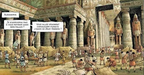 alix senator,valérie mangin,thierry demarez,casterman,antiquité,rome,egypte