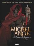 Michel Ange, le banquet des damnés, Didier Convard, Éric Adam, Thibaud de Rochebrune, Glénat, ésotérique, enquête, aventure.