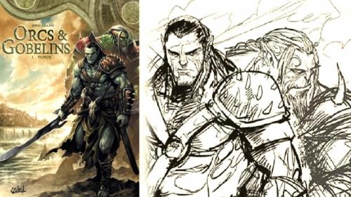 Orcs & Gobelins, Turuk, Jean-Luc Istin, Diogo Saïto, Soleil, heroic-fantasy, aventure