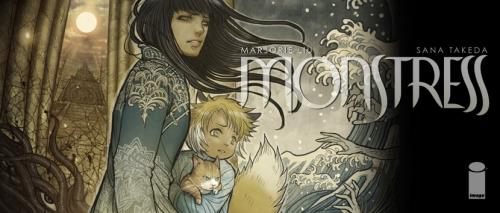 Monstress, Marjorie Liu, Sana Takeda, Delcourt, heroic-fantasy, dark-fantasy, aventure, fantastique.