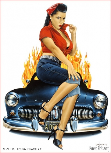 pin-up girls,dave nestler