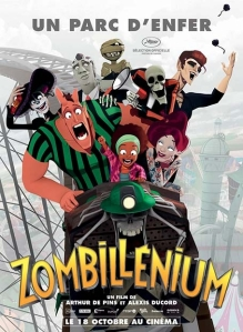 L'art de zombillénium, Zombillénium, Gretchen, Arthur de Pins,Marion Tornicelli & Gérard Viry-Babel, Dupuis, humour, fantastique, documentaires, graphique