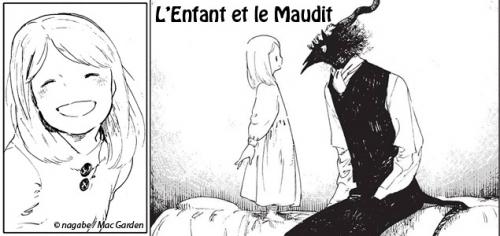 L'enfant et le maudit, Nagabe, Komikku, Seinen, dark-fantasy, conte, légendes, tranche de vie.