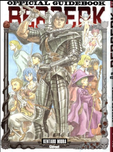 berserk official guide book