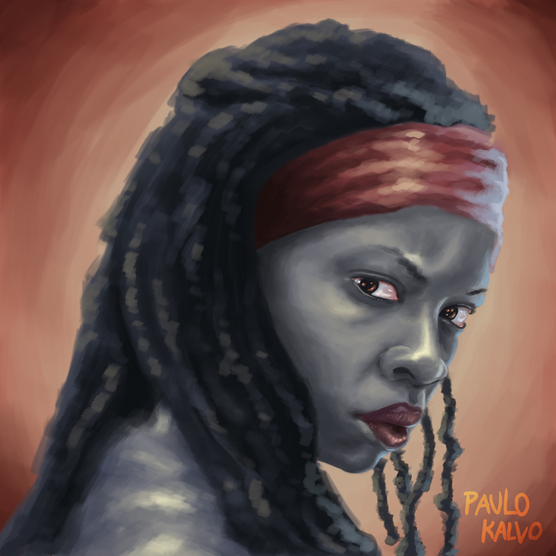 michonne_by_paulo kalvo