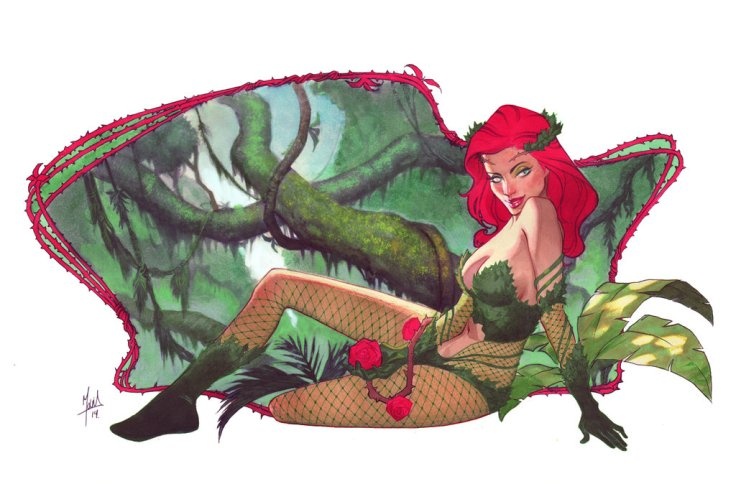 poison_ivy_commission_by_zurdom-d7mrh1g