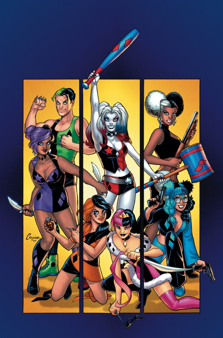 HARLEY QUINN AND HER GANG OF HARLEYS #1 by Amanda Conner