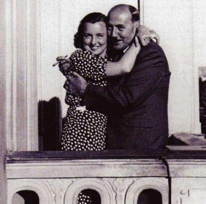 Albert Goering mit Frau