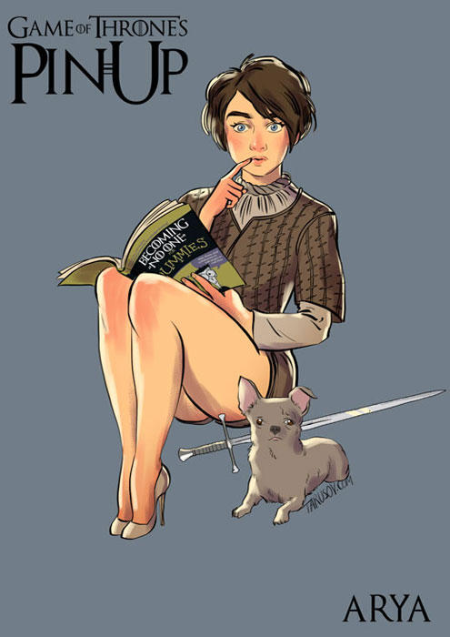 andrew-tarusov-game-of-thrones-pinups-arya